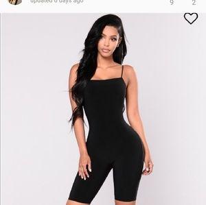 Fashion Nova black jumpsuit